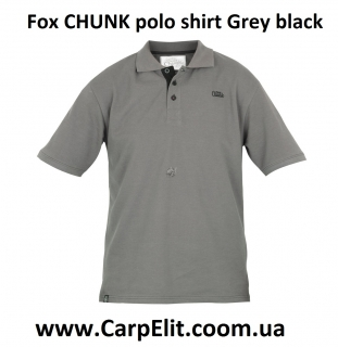 Поло Fox CHUNK polo shirt Grey black
