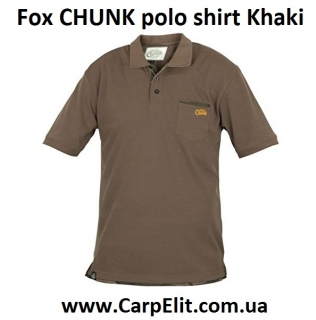 Поло Fox CHUNK polo shirt Khaki