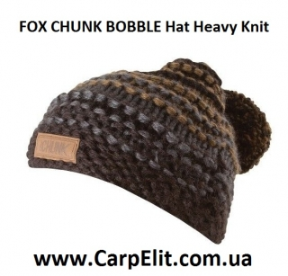 Шапка FOX CHUNK BOBBLE Hat Heavy Knit