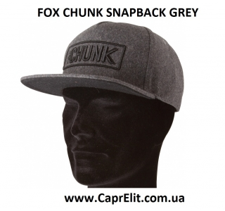 Кепка FOX CHUNK SNAPBACK GREY