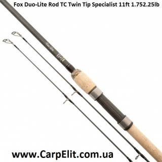 Удилище Fox Duo-Lite Rod TC Twin Tip Specialist 11ft 1.75/2.25lb (под заказ)