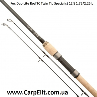 Удилище Fox Duo-Lite Rod TC Twin Tip Specialist 12ft 1.75/2.25lb (под заказ)