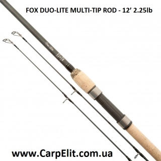 Удилище FOX DUO-LITE MULTI-TIP ROD - 12' 2.25lb (ПОД ЗАКАЗ)