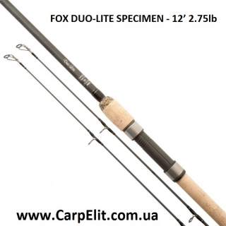 Удилище FOX DUO-LITE SPECIMEN - 12' 2.75lb (ПОД ЗАКАЗ)