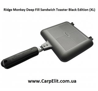 Тостер Ridge Monkey Deep Fill Sandwich Toaster Black Edition (XL)