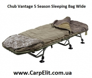 Спальный мешок Chub Vantage 5 Season Sleeping Bag Wide