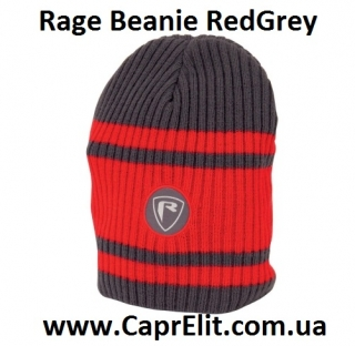 Шапка Rage Beanie Red/Grey
