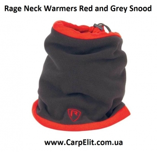 Балаклава Rage Neck Warmers Red and Grey Snood