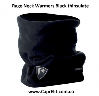 Балаклава Rage Neck Warmers Black thinsulate