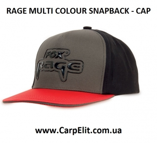 Кепка RAGE MULTI COLOUR SNAPBACK - CAP