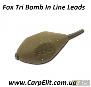 Fox Tri Bomb In Line Leads Грузило