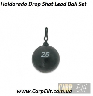 Haldorado груз мяч Drop Shot Lead Ball Set
