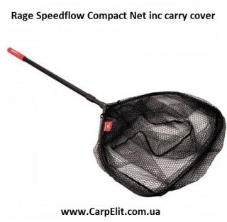 Rage Speedflow Compact Net inc carry cover