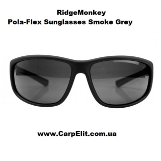 RidgeMonkey Pola-Flex Sunglasses Smoke Grey