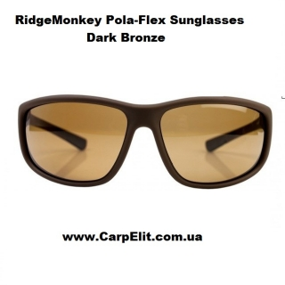 RidgeMonkey Pola-Flex Sunglasses Dark Bronze