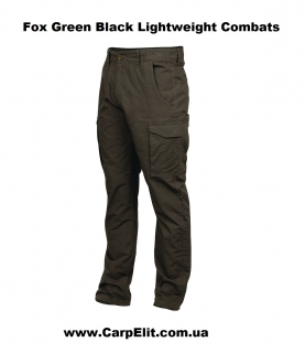 Штаны летние Fox Green Black Lightweight Combats