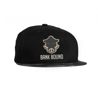 PROLOGIC BANK BOUND FLAT BILL CAP BLACK / CAMO