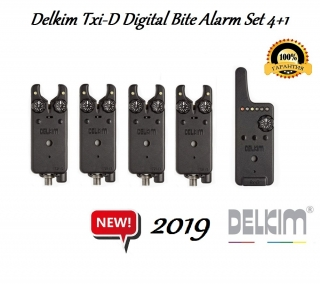 Сигнализаторы Delkim Txi-D Digital Bite Alarm Set 4+1