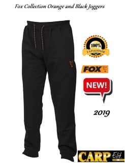 Штаны Fox Collection Orange and Black Joggers