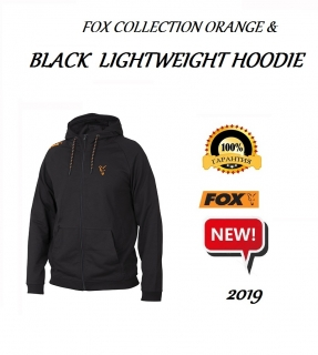 Толстовка FOX COLLECTION ORANGE & BLACK LIGHTWEIGHT HOODIE