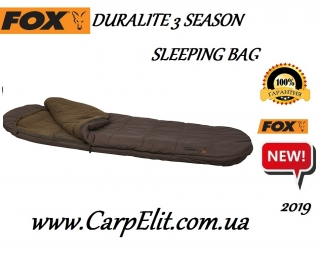 Спальный мешок Fox Duralite 3 Season Sleeping Bag