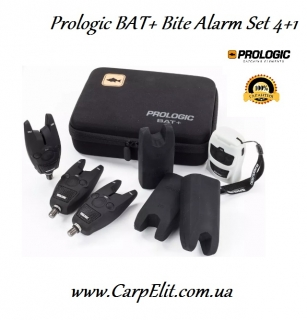 Prologic BAT+ Bite Alarm Set 4+1