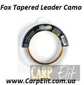Fox Tapered Leader Camo