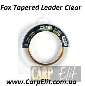 Fox Tapered Leader Clear