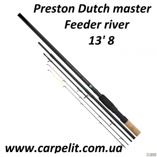 "Фидерное Удилище Preston Dutch master  13' 8""  Feeder river"