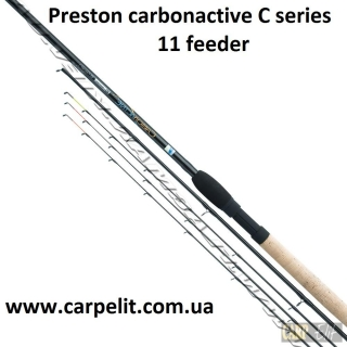 Фидерное удилище Preston carbonactive C series 11 feeder