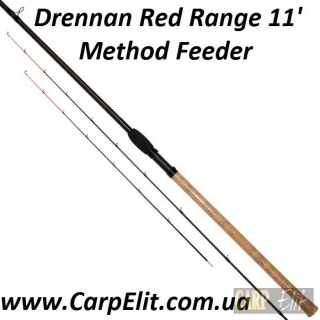 Фидерное удилище Drennan Red Range 11' Method Feeder