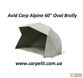 Avid Carp Alpine 60 Oval Brolly