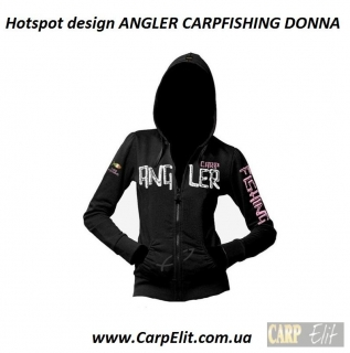 Толстовка Hotspot design ANGLER CARPFISHING DONNA