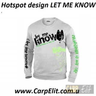 Толстовка Hotspot design LET ME KNOW